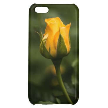 Beautiful yellow rose bud. case for iPhone 5C