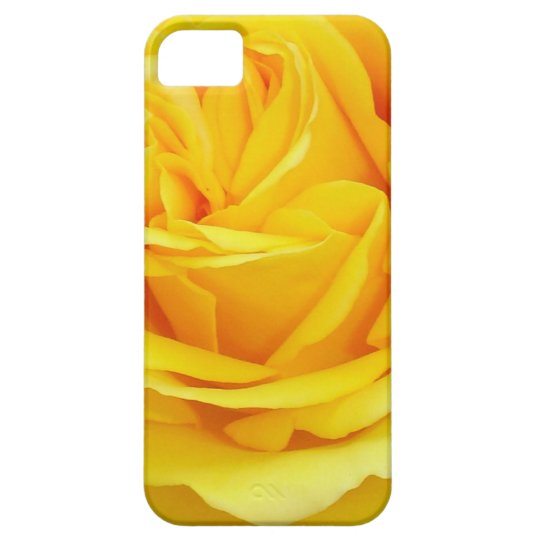Beautiful Yellow Rose Closeup iPhone SE/5/5s Case