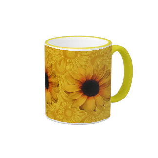 Beautiful Yellow Sunflowers Mug