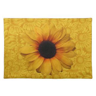 Beautiful Yellow Sunflowers Placemat