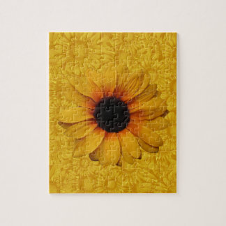 Beautiful Yellow Sunflowers Puzzle
