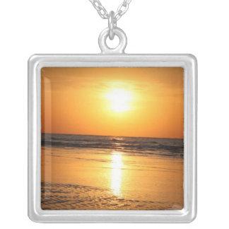 Beautiful Yellow Sunset 2 Necklaces
