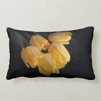 Beautiful Yellow Tulips Pillow