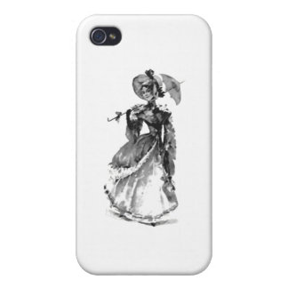 Beautiful Young Lady iPhone 4 Cover
