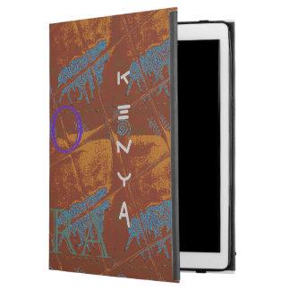 Beautiful Zebra print  Kenya Safaris iPad Pro Case