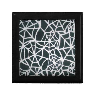 Beautiful Zebra Web of Black and White Stripes.JPG Gift Box