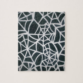 Beautiful Zebra Web of Black and White Stripes.JPG Jigsaw Puzzle