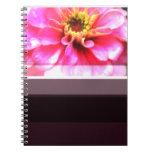 Beautiful Zinnia flower Notebook