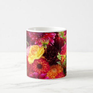Beautiful Zinnia Flowers Mug