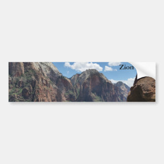 Beautiful Zion National Park Bumper Sticker