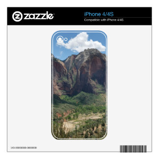Beautiful Zion National Park Decals For The iPhone 4