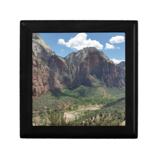 Beautiful Zion National Park Keepsake Box
