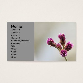 Beautifull buisness card with flower