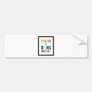 Beautifull Cup Bumper Sticker
