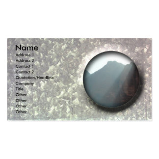 Beautifull customizable business card galvanize