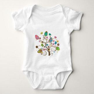 Beautifull East Eggs Design! Baby Bodysuit