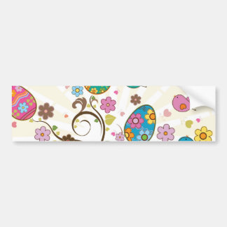 Beautifull East Eggs Design! Bumper Sticker