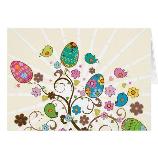 Beautifull East Eggs Design! Greeting Cards