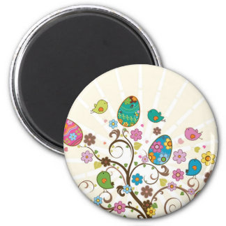 Beautifull East Eggs Design! Fridge Magnet