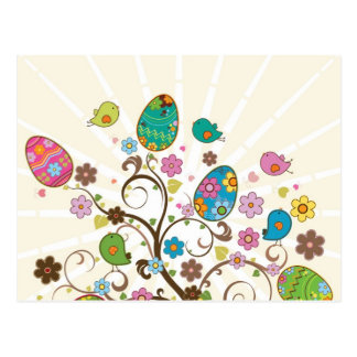 Beautifull East Eggs Design! Postcard