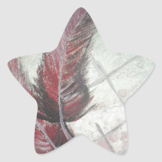 beautifull love star sticker