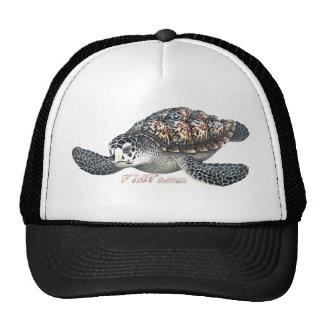 Beautifull SeaTurtle Trucker Hats
