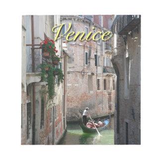 Beautifull Venice Italy Note Pad