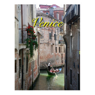 Beautifull Venice Italy Postcard