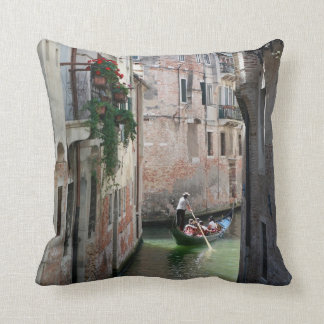 Beautifull Venice Italy Throw Pillows