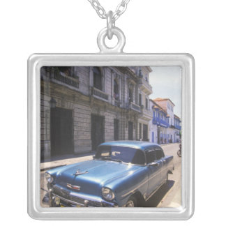 Beautifully classic Chevrolet restored from Silver Plated Necklace