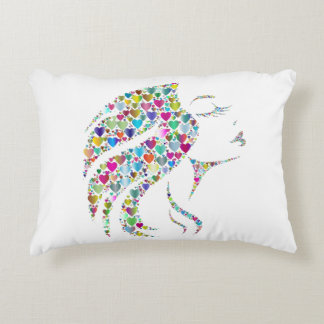 Beautifully Colorful Elegance Accent Pillow