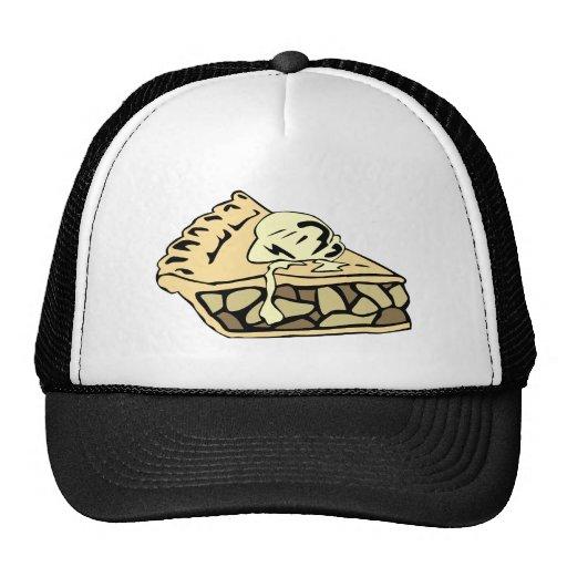 Beautifully creamy apple pie hats