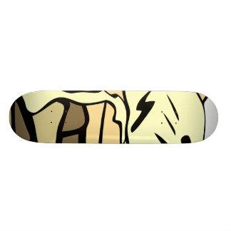 Beautifully creamy apple pie custom skateboard