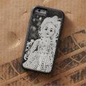 Beautifully Creepy Antique Doll Portrait iPhone 6 Case