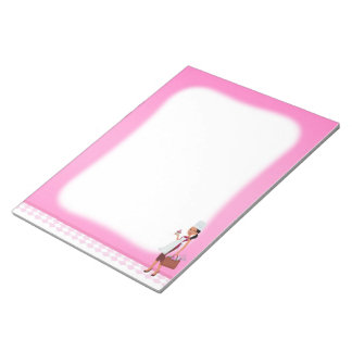Beautifully Illustrated African American Notepad 4