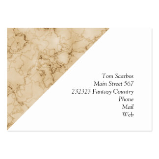 beautifully marbled 01 (L) Large Business Cards (Pack Of 100)