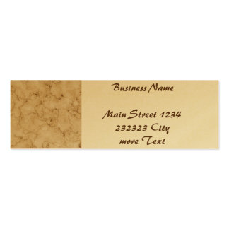 beautifully marbled 01 (L) Double-Sided Mini Business Cards (Pack Of 20)