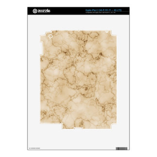 beautifully marbled 01 (L) iPad 3 Skin