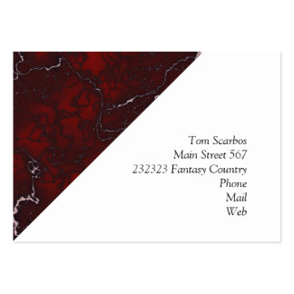 beautifully marbled 04 (L) Large Business Cards (Pack Of 100)