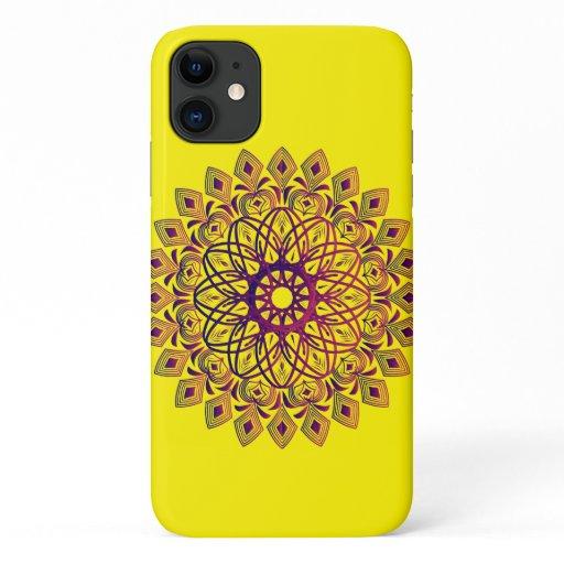 beautifun moroccan artisanal art iPhone 11 case