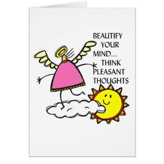 BEAUTIFY YOUR MIND GREETING CARD