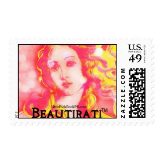 Beautirati: Mail Me, baby! Postage Stamps