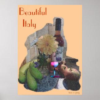Beautiul Italy Poster
