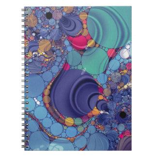 Beautiul loco spiral notebooks