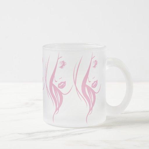 beauty-153892 BEAUTY PINKS SALON SPA LOGO beauty w Coffee Mug