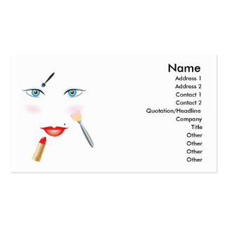 Beauty #6 Business Cards