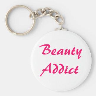 Beauty Addict Keychain