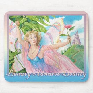 Beauty Admires Beauty Mouse Pad