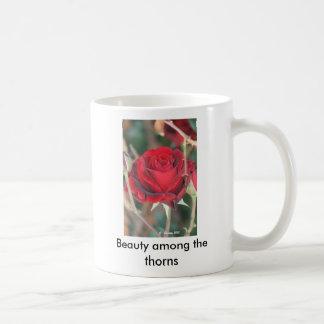 Beauty among the thorns coffee mugs