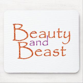 Beauty and Beast Alfombrilla De Raton